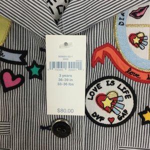 Diane Von Furstenberg Jackets & Coats - DVF Gap NWT Striped Blazer Jacket 3Y Diane New